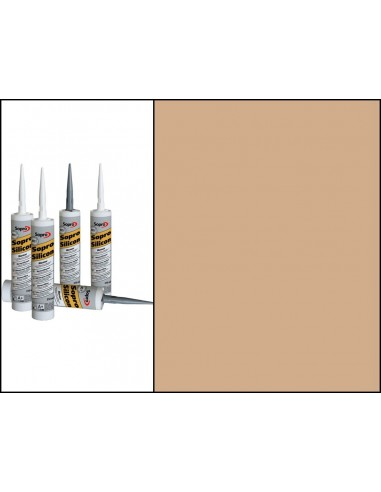Joint Mastique Silicone Marbre 310 ml BEIGE JURA-33 794