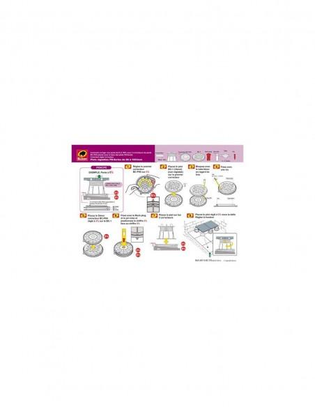 Correcteur de pente U-PH5 0-5%   Correcteur de pente U-PH5 0-5%