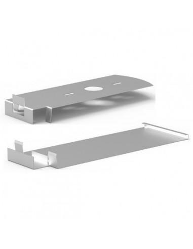 Finition latérale PB-END INOX 2 pièces / haut et bas   Finition latérale PB-END INOX 2 pièces / haut et bas